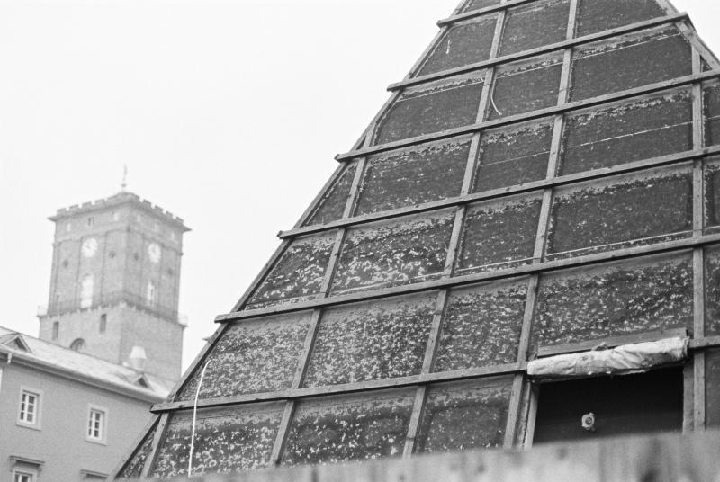 Verpackte Pyramide