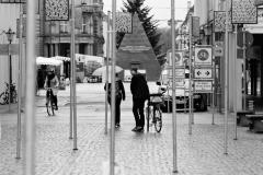 Karlsruhe im Corona-Lockdown