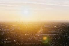 Sonnenuntergang auf dem Turmberg